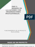 Ud 3. Oportunidades de Licitacion Organismos Multilaterales