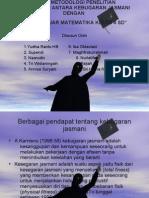 Ppt.tugas Metodologi Penelitian