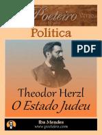 O Estado Judeu - Theodor Herzl - Iba Mendes