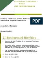 Crisis de Segunda Generación - Complementos - 2016 - Entregado