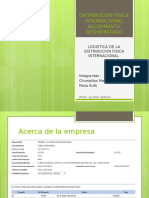 Distribucion Fisica Internacional Aguaymanto Deshidratado