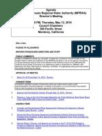 MPRWA Agenda Packet 05-12-16