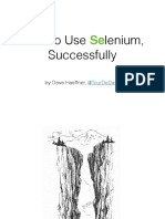 How To Use Selenium, Successfully