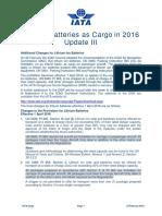 IATA_lithium Battery Update III 4 2016