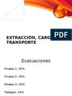 Prueba 1 Extracción, Carguío y Transporte