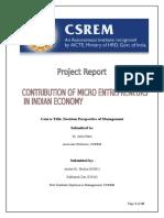 Statistics Project Report PGDM Final