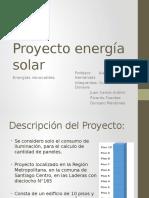 Proyecto energía solar