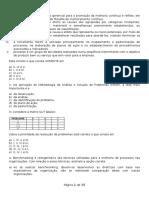 Simulado Para Final Do Ano 2015-2016 (Qc Im 2016) Com Gararito