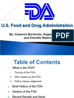 FDA Overview