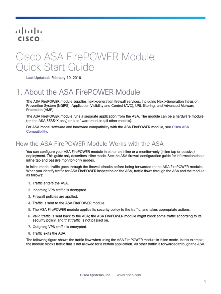 Firepower Qsg   Router (Computing)   Command Line Interface