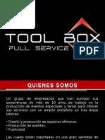 Port a Folio the TOOL BOX. Full Service v2