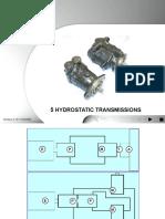 T05 CIH Hydrostatic Transmissions