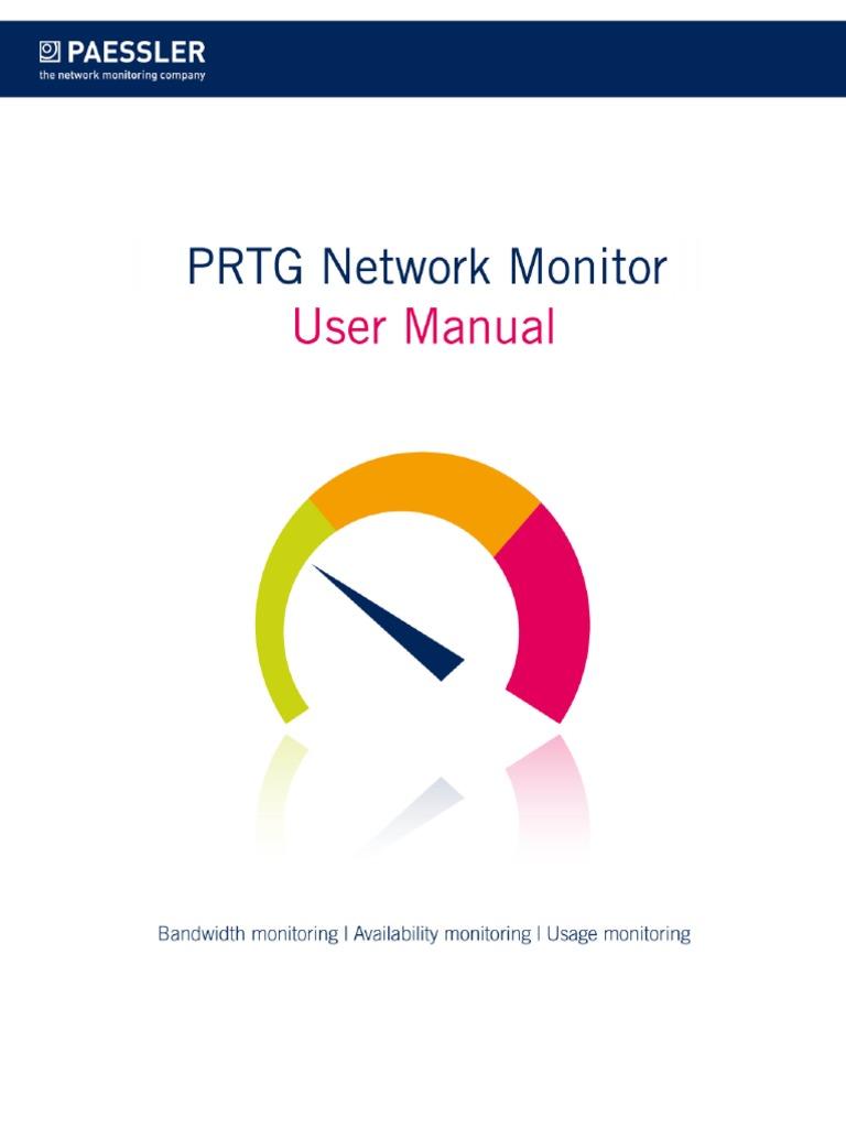 PRTG Manual pdf