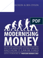 Positive Money - Modernising Money by Andrew Jackson, Ben Dyson