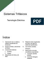 Sistemas Trifasicos. Tecnologia Electrica