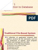 Chapter1 - Introduction to Database System