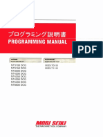 Mori Seiki NT Series Programming Manual (PX-NT-B1JPEN 2008.07)