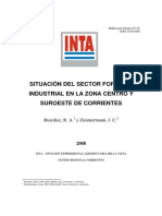 INTA Situacion Del Sector Foresto Industrial Corrientes