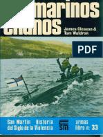 Editorial San Martin - Armas #33 Submarinos Enanos San Martin Armas