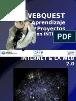 -Dic2012-- Webquest y Aprendizaje Por Proyectos en Internet