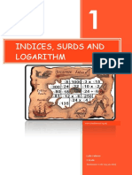Math_book Surd, Indices and Log