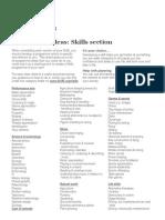 Programme Ideas - Skills (4)