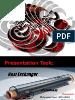 Presentation on Heat EXchanger1