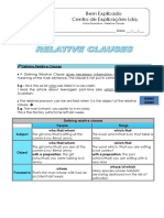 Defining and Non-Defining Relative Clauses (1)
