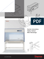Thermo Safety Cabinets MSC-Advantage - Service Manual
