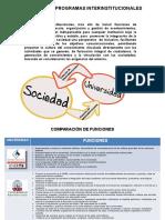 Relación de Programas Interinstitucionales
