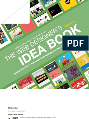 The Web Designers Idea Book Pdf Graphic Design Graphics