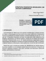 o Município Na Estrutura Federativa Brasileira