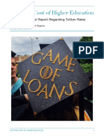 high cost of higher education portfolio