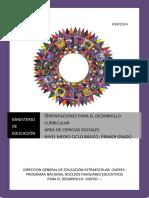 Ciencias Sociales y Formacion Humana