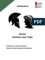 El Vestuario en el Imperio Romano