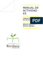 Manual de Actividades Reciduca - 20160313