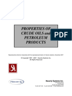 Properties of Crude Oil and Petroleum Products