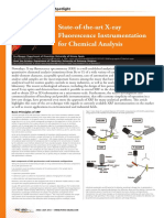State of the Art Xray Fluorescence Instrumentation for Chemical Analysis (1)