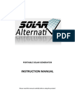 portable power generator manual