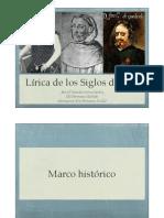 literatura renacentista y barroca