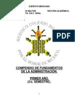 Compendio Fundamentos de La Administracion Completo.