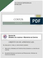 Costos I -Sesión 04 - Estado de Costos