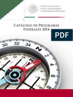 Catalogo de Programas Federales 2014