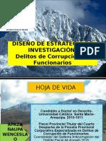 Diseño de Estrategia de Investigacion