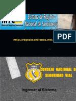 Registro de Conductores- Manejo Del Sistema