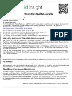 International Journal of Health Care Quality Assurance