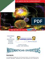 El Programa Nacional de Matemática