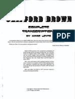 Clifford Brown - Complete Transcriptions (Marc Lewis)