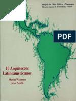 10 Arquitectos LAtinoamericanos -  M. Waisman & C. Naselli - ArquiLibros - facebook.pdf