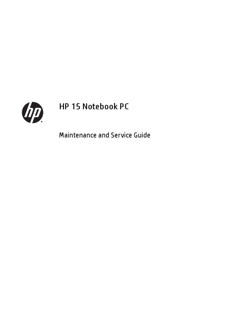 hp 15 f211wm notebook pc touch maintenance service guide pdf rh scribd com Removal Services Fishing Guide Service